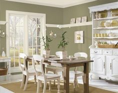Decorating With Green Walls Accents And Accessories  Sage Green Beauteous Green Dining Room Walls Inspiration