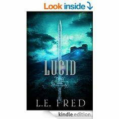 L.E. Fred's debut book Lucid. A suspenseful book about the dream world of Devon Alexander.