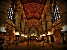 Sterling Memorial Library — Yale University, Connecticut | 21 College Campuses That Make You Feel Like You're At Hogwarts