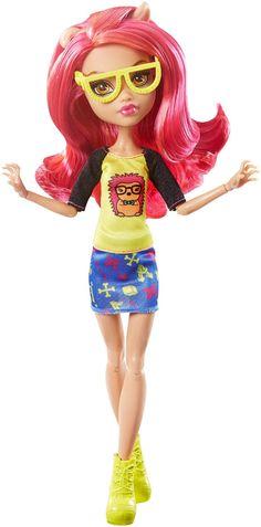 Amazon.com: Monster High Geek Shriek Howleen Wolf Doll: Toys & Games