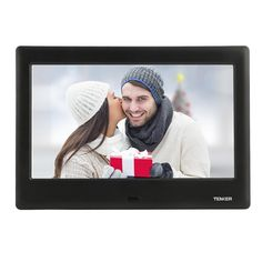 Amazon.com : TENKER 8-inch HD Digital Photo Frame IPS LCD Screen with Auto-Rotate/Calendar/Clock Function, MP3/Photo/Video Player with Remote Control (Black) : Camera & Photo   @giftryapp