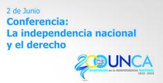 """Conferencia: """"La independencia nacional y el derecho"""" - #UNCA #Catamarca #derecho"""