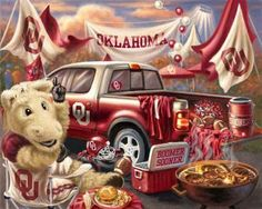 Oklahoma Sooners TaiLGate Party #Ultimate Tailgate #Fanatics