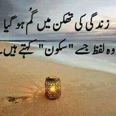 Zindagi ki thkan main gum ho gaya __   Lafaz __ Sakoon !!!   A.H