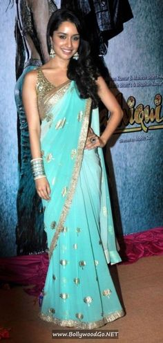 shraddha kapoor saree movie - Google Search