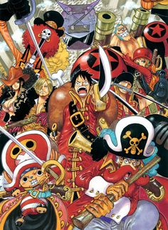 Some One Piece pictures.