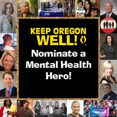 Nominations for the 2017 Keep Oregon Well Mental Health Heroes Awards are now open!    Go to www.KeepOregonWell.com and help us celebrate the people in our community who have helped pave the way for mental and behavioral health to thrive in Oregon.    #Advocacy #PDXmusic #KeepOregonWell #FightStigma #MentalHealth #MentalHealthHero #MentalHealthMatters