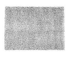 Alfombra Helsinki, natural y negro - 235x165 cm