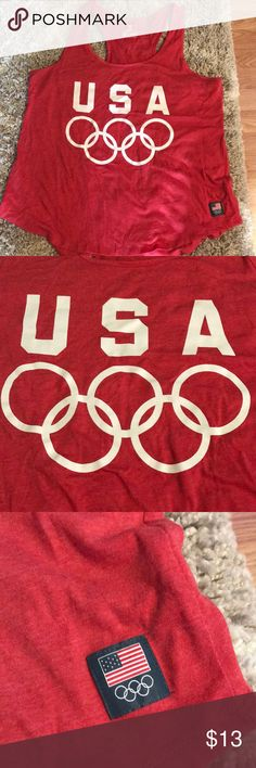 United States Olympic Team USA Tank Top Great Condition  Never worn Smoke free home Old Navy Tops Tank Tops