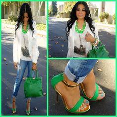 love money green