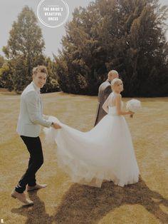 An English summer wedding