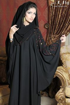 Elegant abaya