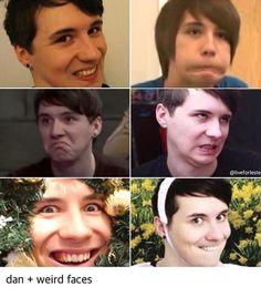 Dan+weird faces<<<weird faces??? I think you mean BEAUTIFUL faces!!!