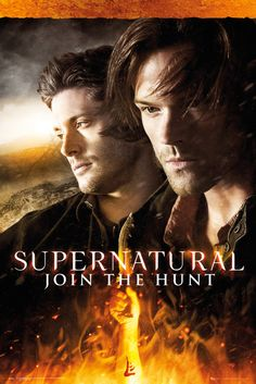 Supernatural Fire - Official Poster. Official Merchandise. Size: 61cm x 91.5cm. FREE SHIPPING