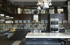Home Ideas from KOHLER                                                           Good ideas just too dark for me.