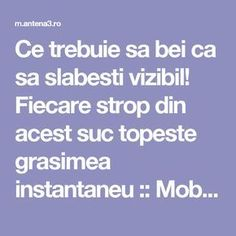 Ce trebuie sa bei ca sa slabesti vizibil! Love Test, Spa Deals, Fitness Tattoos, Homemade Beauty Products, Metabolism, How To Lose Weight Fast, Body Care, Health And Beauty, Diabetes