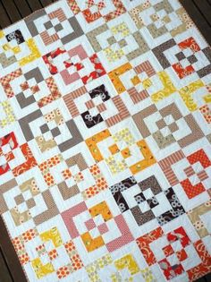 Very cool quilt pattern | quilts