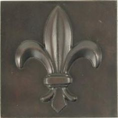 @Overstock - Give your home an updated look with these aluminum accent tiles. A dark bronze finish gives these fleur de lis design tiles an elegant appeal for your home decor.http://www.overstock.com/Home-Garden/Fleur-De-Lis-Dark-Bronze-4-inch-Accent-Tiles-Set-of-4/5086078/product.html?CID=214117 $36.49