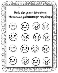School Worksheets, Kindergarten, Printables, Feelings, Words, Google, Print Templates, Kindergartens, Preschool