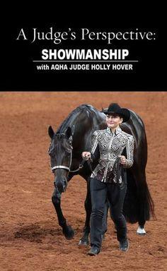 AQHA Judge Holly Hover walks us through the winning showmanship pattern at the 2015 AQHYA World Show