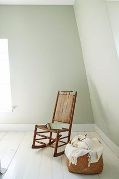 Sponsored: Cape Cod Summer Bedrooms Refreshed with Farrow & Ball Paint: Cromarty - Modern Farrow Ball, Farrow And Ball Paint, Farrow And Ball Kitchen, Painted Wood Floors, White Wood Floors, Pine Floors, Bedroom Colour Schemes Inspiration, Bedroom Color Schemes, Summer Bedroom