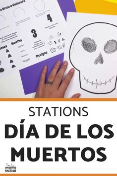 Check out some engaging options for station ideas, cultural activities, and crafts you could include for Day of the Dead Activities for Spanish class! Help your students or kids learn everything about the Day of the Dead with this collection of Día de los Muertos lesson plans and resources. This post is great for any middle or high school Spanish class studying el Día de los Muertos, the Day of the Dead. Class decor, writing activities, games, and more included! Click through to learn more! Spanish Lesson Plans, Spanish Lessons, Spanish Classroom, Teaching Spanish, Class Activities, Writing Activities, Middle School Spanish, Class Decoration, Day Of The Dead