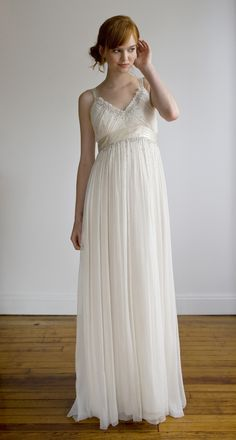 Collecting starlight. It's technically a wedding dress, but I am going to wear this all day every day.