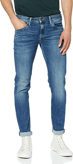 Pepe Jeans  Bekleidung, Herren, Jeanshosen Pepe Jeans, Boxers, Culottes, Slim Fit, Trends, Casual, Denim, Fitness, Pants