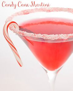 Candy Cane Martini & other Christmas treats