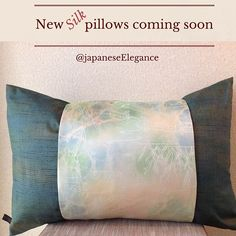 Dress your home in silk. We have silk pillows for every sofa and bed in your home.