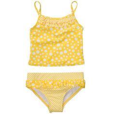 2-Piece Polka Dot Swimsuit