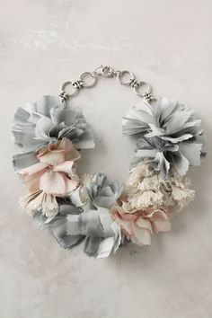 things past necklace from Anthropologie expensive there so @Kristin Davidson we should totally make!!!