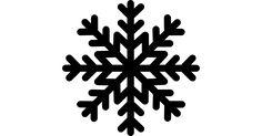 Copo de nieve iconos vectoriales gratis diseñados por Freepik
