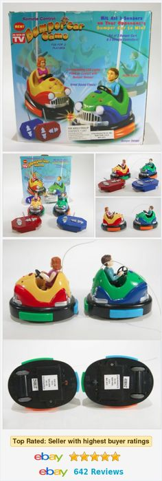 Bumper Cars Game AS SEEN ON TV ! Remote Control Radio RC electronic  | eBay