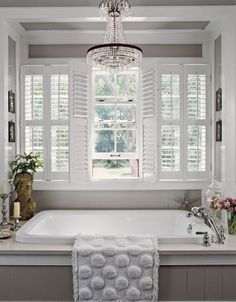 Always like it when a bathroom has natural light and fresh air!