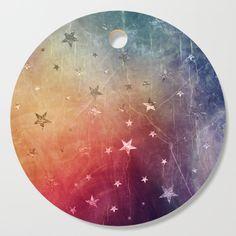 Starry emergence Cutting Board by uteb