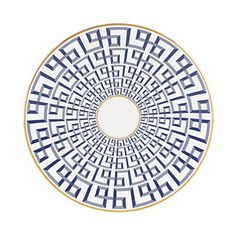 Gluckstein by Lenox Darius Gold Accent Plate | Bloomingdale's