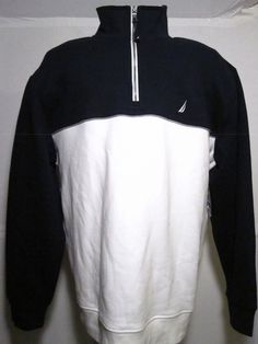 Nautica Mens New with Tag Sweater Size XL Navy Blue | eBay