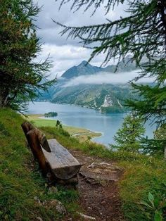 Resting Stop on Lake Sils Maria/St Moritz Switzerland , top of the world Places Around The World, Oh The Places You'll Go, Places To Travel, Places To Visit, Around The Worlds, Beautiful World, Beautiful Places, Amazing Places, Sils Maria