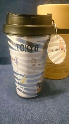 F/S New Starbucks plastic tumbler 355ml TOKYO limited japan geography series #srarbucks