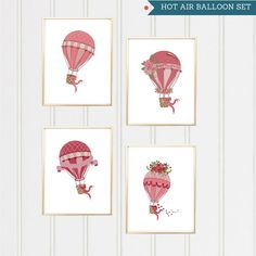 Hot Air Balloon Cross Stitch Pattern/Hot Air Balloon Pattern /Balloon Cross Stitch/Floral Hot Air Balloon/Home Decor/Dream Big/ by XStitchMania on Etsy