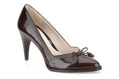 Womens Smart Shoes - Deeta Bombay in Ox-Blood Leather from Clarks shoes