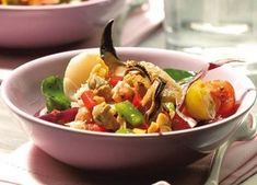 Salade de la mer, coquillages et crustacés