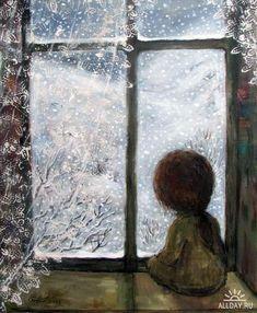 """Грустный ангел"". Нино Чакветадзе (Nino Chakvetadze)~                                                   <3 I adore this ladies art!"