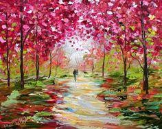 Beautiful Impressionist painting idea. Pintura de Leonid Afremov
