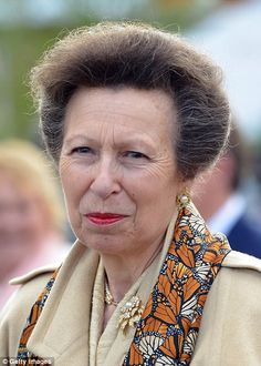 Princess Anne also made an appearance...