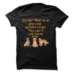 Golden Retriever Like Potatochips T Shirts, Hoodies, Sweatshirts. CHECK PRICE ==►…