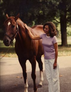 Secretariat At Claiborne Farm 1982