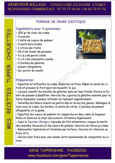 Tupperware Tupperware Recipes, Food Illustrations, The Dish, Dishes, Album, Entrees, Thermomix, Trier