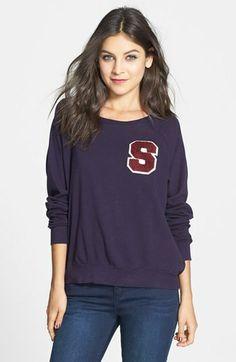 Project Social T 'Varsity' Sweatshirt (Juniors) on shopstyle.com